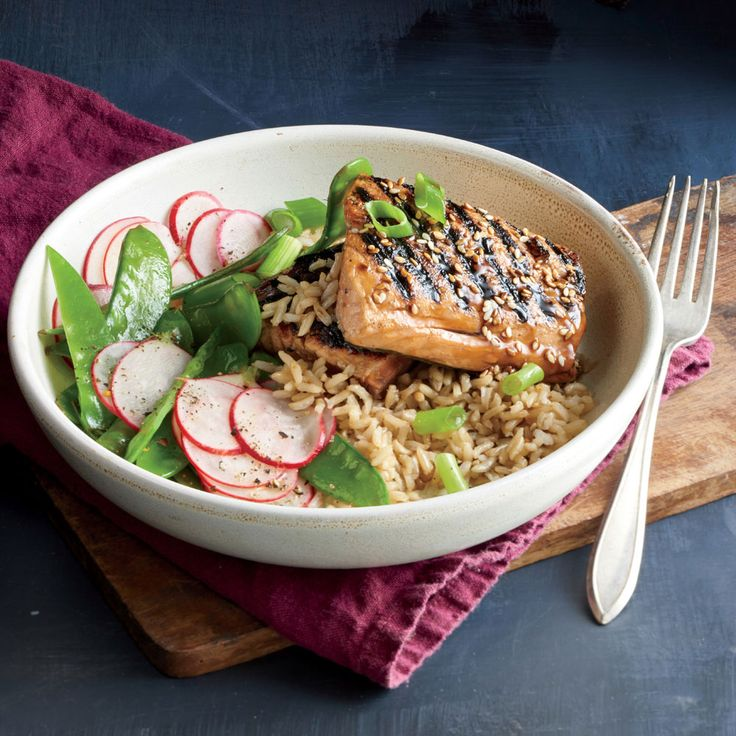 68 best food images on pinterest for Fish and rice recipes