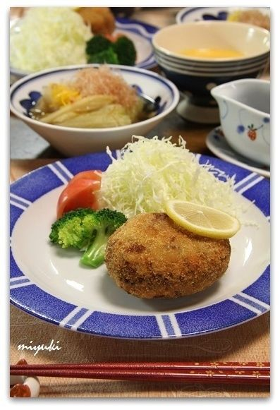 牛切り落とし肉のやわらかメンチカツ by miyukiさん   レシピブログ ...