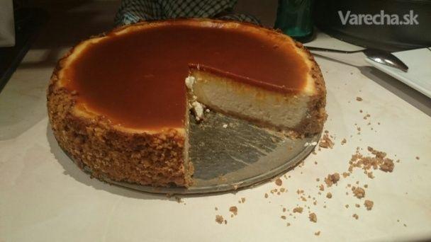Karamelový cheesecake - Recept