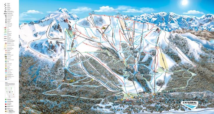 Cerro Catedral - Bariloche - Argentina - Pistas de Ski