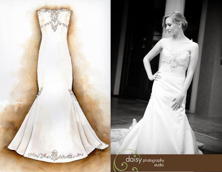 15 best kristina bailey images on pinterest fashion for Custom wedding dress dallas