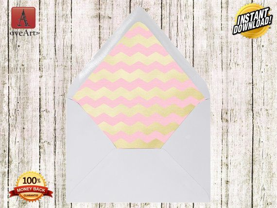 8 Envelope Liners Template Envelope Liner DIY by LoveArtSyou
