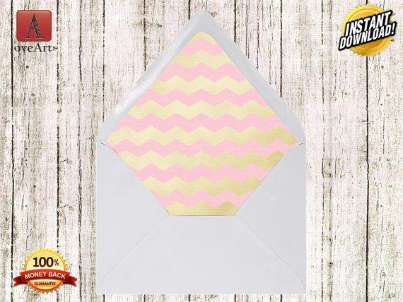8 Envelope Liners Template Envelope Liner DIY by LoveArtSyou
