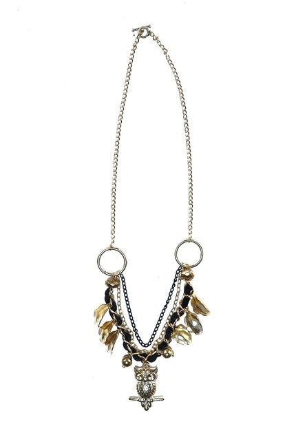 Hedwig Necklace by Kitty Kitz