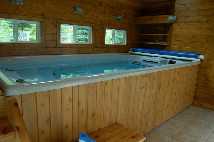 17 images about endless pools swim spas on pinterest for Swim spa in garage