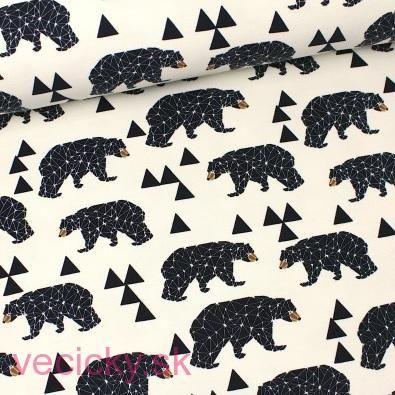 TEPLÁKOVINA - medvede kremové