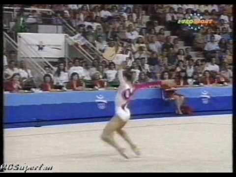 Carolina Pascual Ball 1992 Olympics