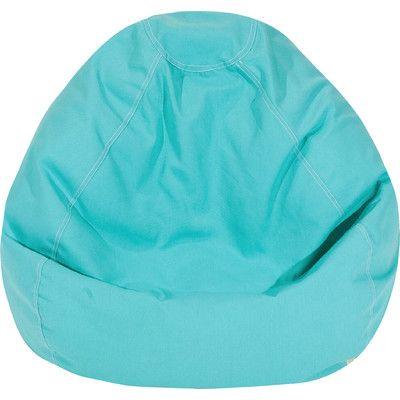 Bean Bag Chair Upholstery: Teal - http://delanico.com/bean-bag-chairs/bean-bag-chair-upholstery-teal-640359454/