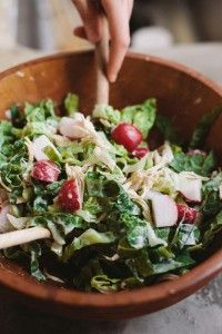 AIP-friendly Chicken Caesar Salad--one of the amazing recipes in The Autoimmune Paleo Cookbook by Mickey Trescott