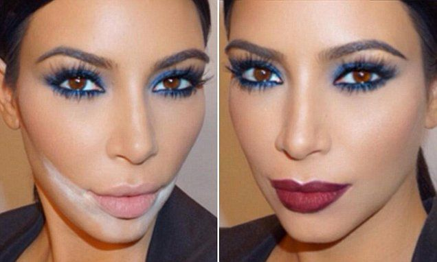 'Sandbagging' involves using powder to prevent make-up from creasing. Mario Dedivanovic uses the technique on Kim Kardashian. It's easy to do at home and ensures that make-up lasts all day.
