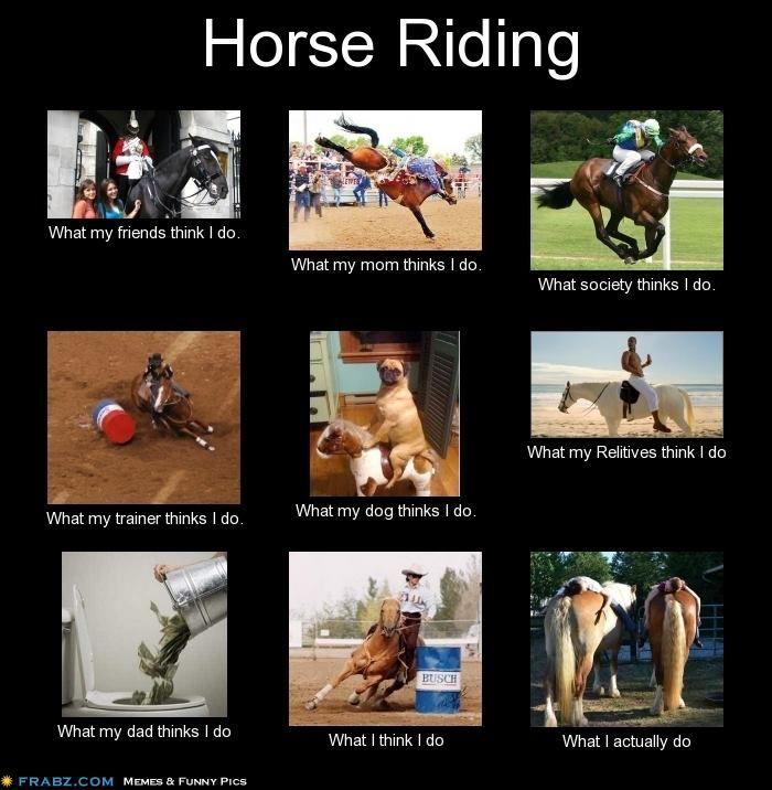 Horse Riding Interpretations