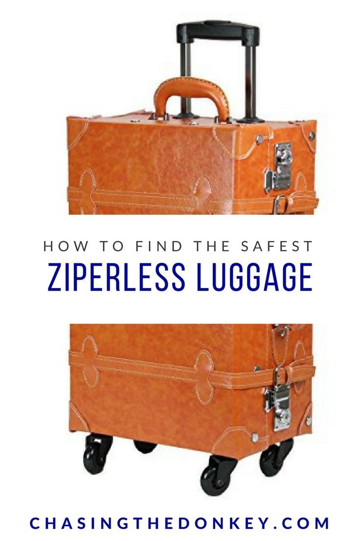 2017 Best Zipperless Luggage Reviews & Comparison Chart. We need to be so careful about our luggage, and these bags with no zips help prevent theft! CLICK HERE TO REVIEW THEM ALL.