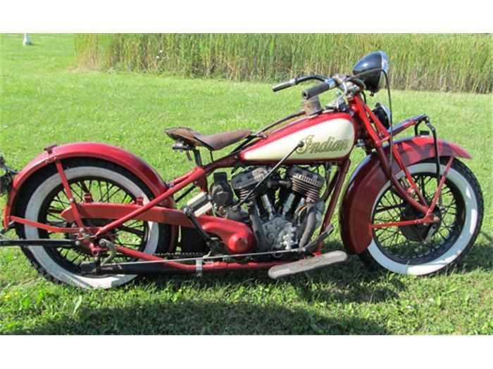 1933 indian motorcycle: