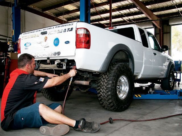 2002 Ford Ranger Body Lift
