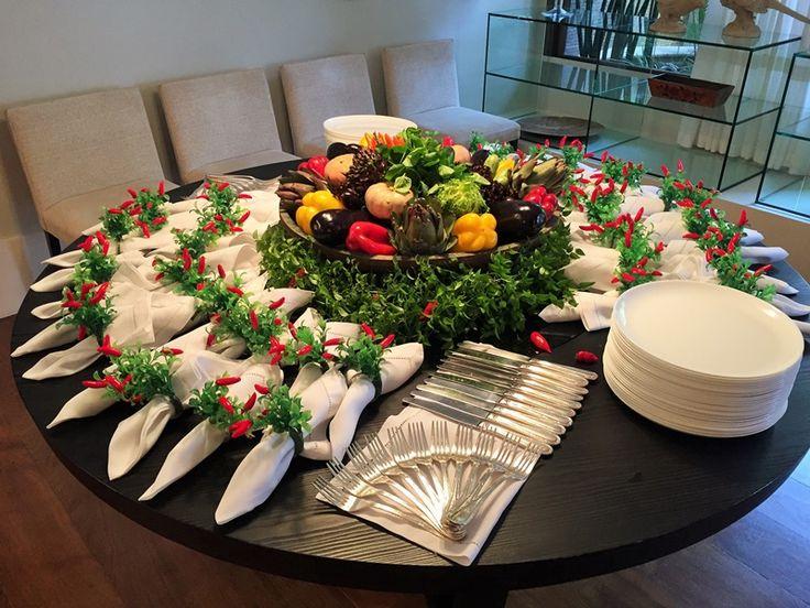Pretty buffet