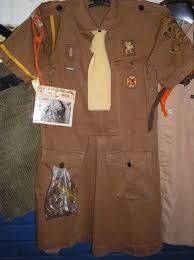 oude kabouterjurk scouting - jaren zeventig