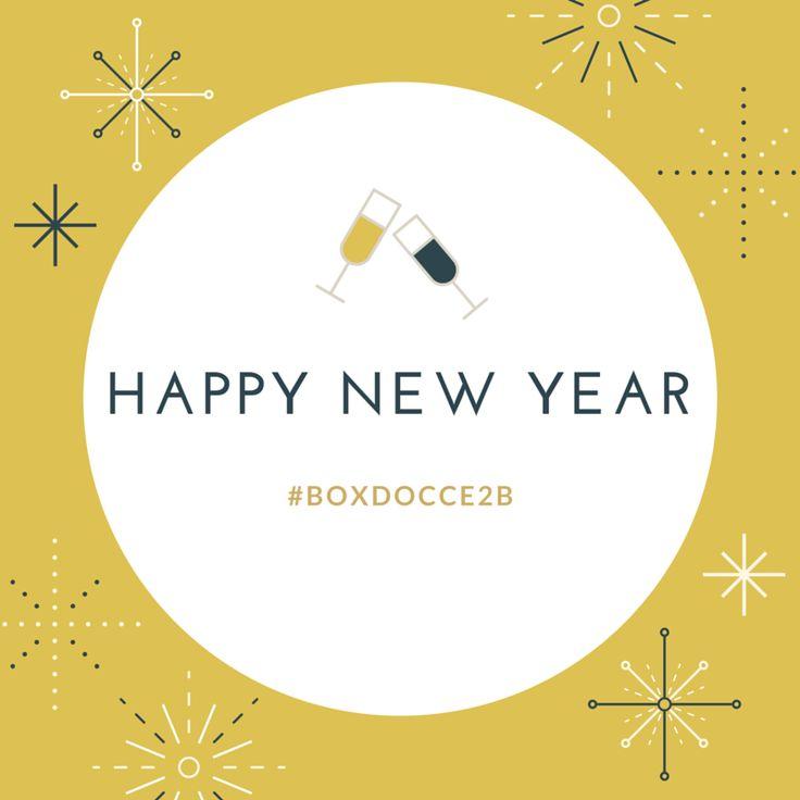 HAPPY NEW YEARS! #boxdocce2b #2016 #happynewyears