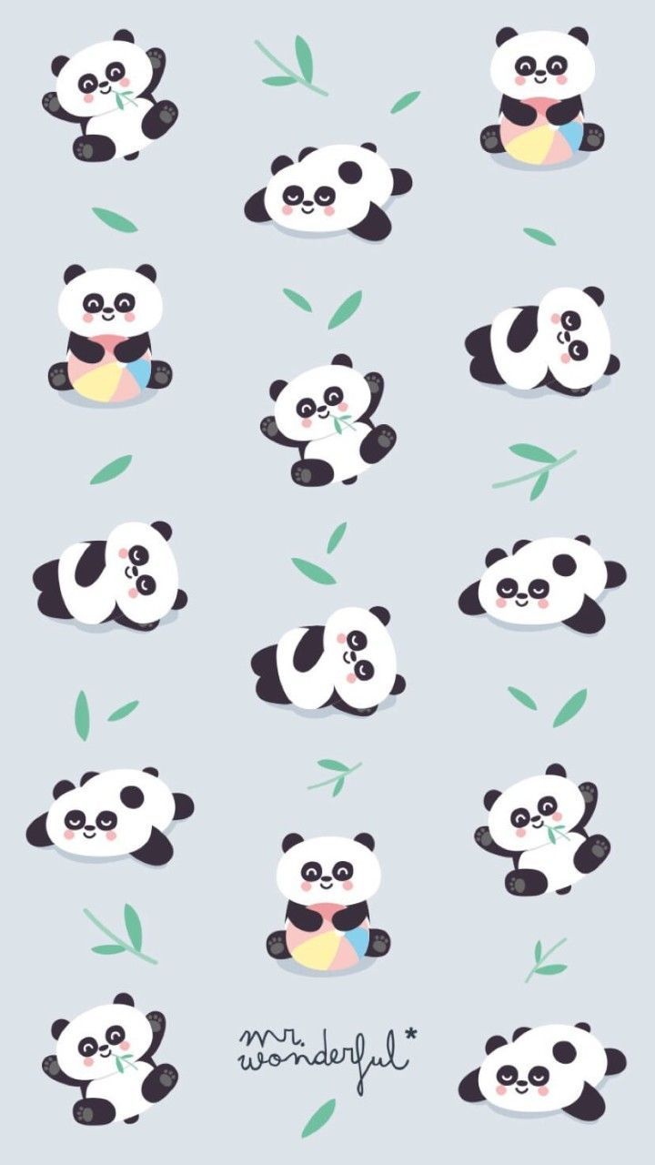 Panda Wallpaper En 2019 Panda Fondos Fondos Phone Y