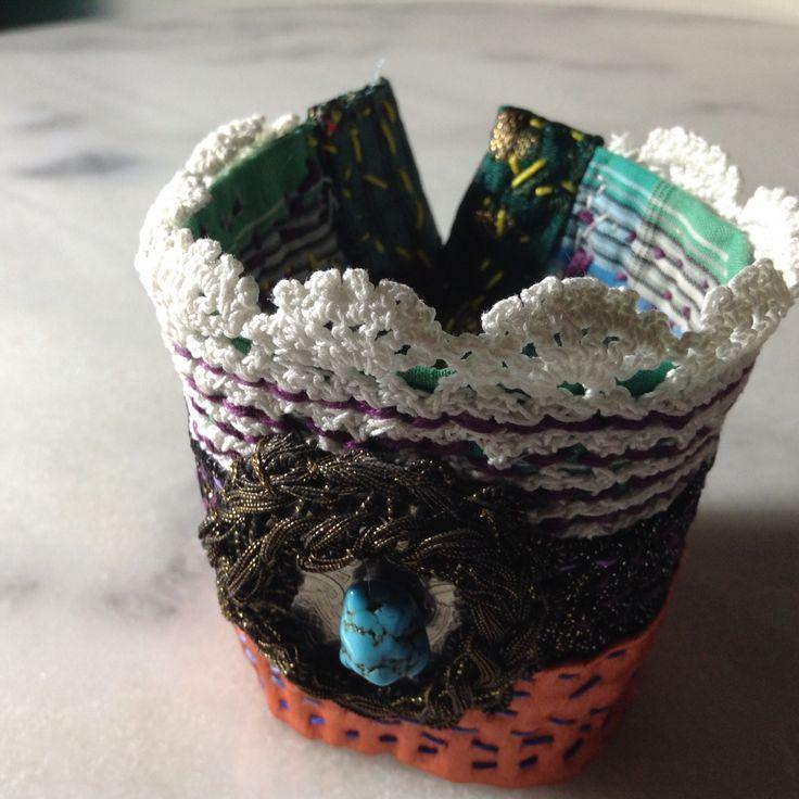 Handmade textile colors ethnic 40€