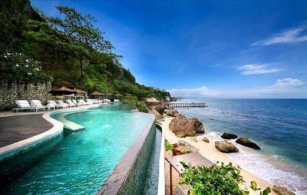 AYANA Resort and Spa Bali Pinned to Pool Design by Darin Bradbury.
