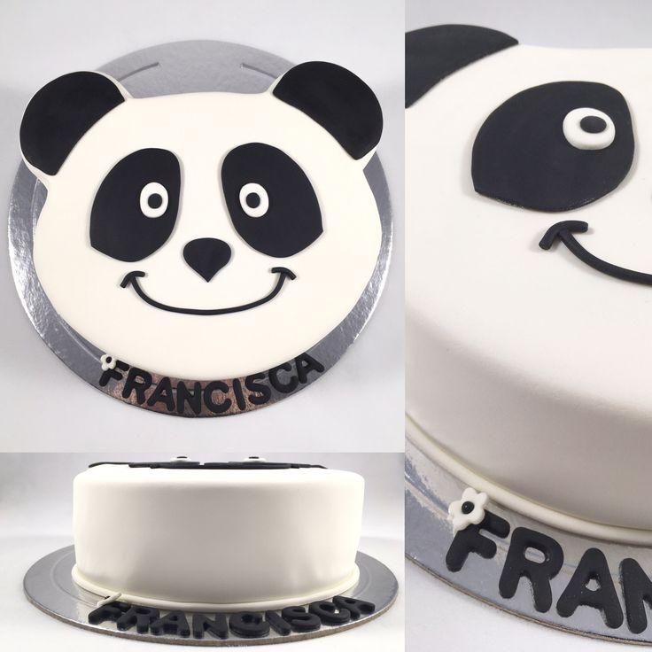 Canal panda cake bolo