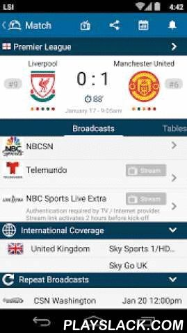 "Live Soccer TV Broadcast Guide  Android App - playslack.com ,  What's New in Version 3.1- New match kick-off notifications options: 24hr, 6hr, 3hr, 1hr & 30min.- Control the visibility of live scores: Always on, 7day, 2day, 1day, 12hrs & off.- Add all matches of your favorite team to your personal calendar.- Addition of Dutch, Italian and Turkish language support.- Bug fixes.The ""Live Soccer TV"" app is a comprehensive soccer / football TV guide, which provides match schedules with…"