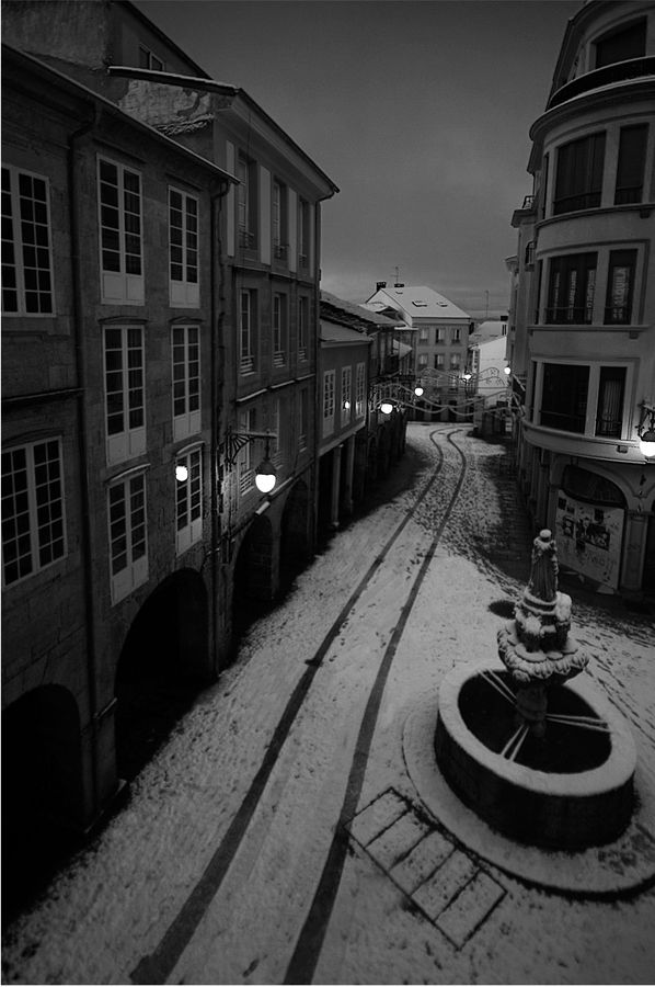 Elurra Lugon - Nieve en Lugo.