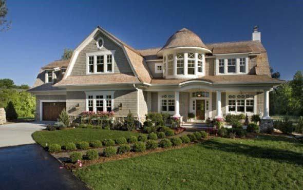 Modelos de fachadas de casas ao estilo colonial http for Fachadas de casas estilo moderno