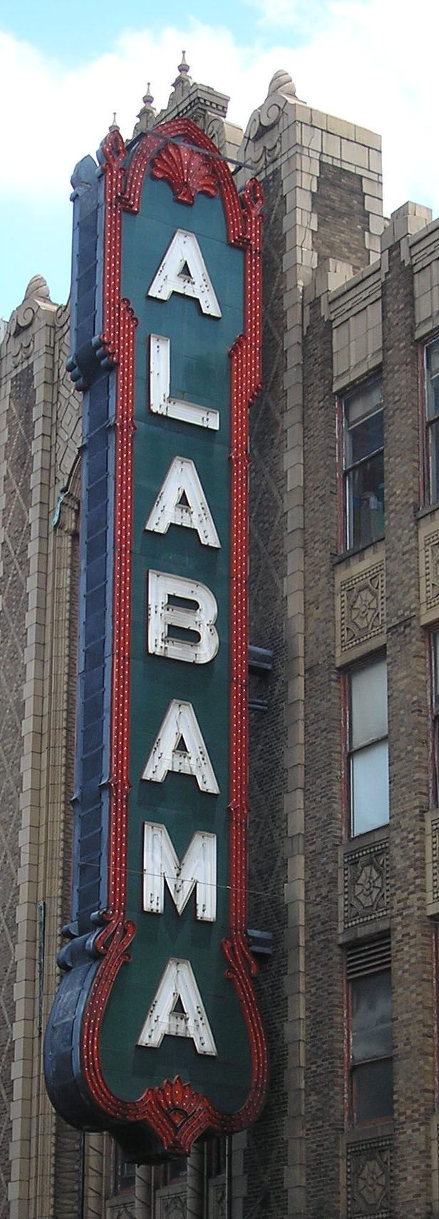 Alabama Theater, Birmingham, AL.