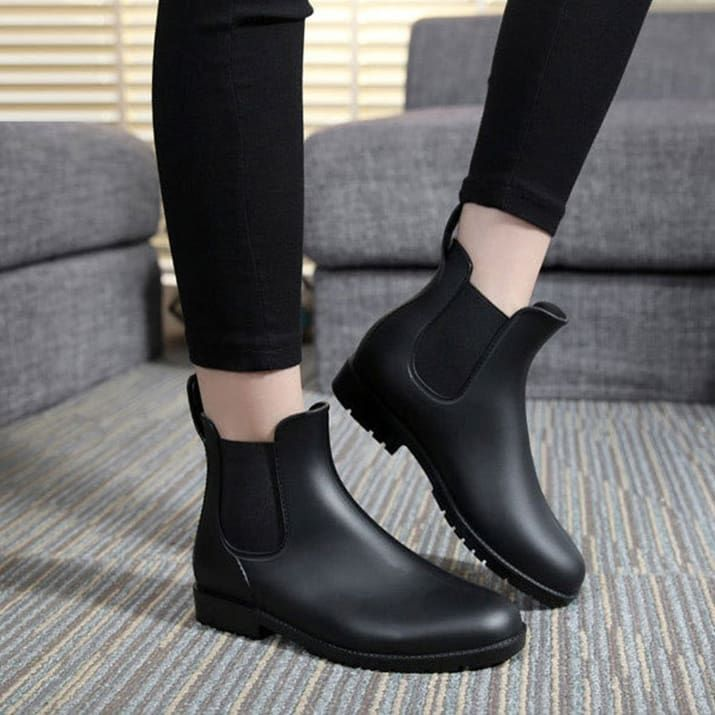 """Promising Review: """"These shoes are darling! I bought the black boots for my teenage daughter and have now purchased a pair for myself. They're definitely a popular style and all her friends are asking where she got them. They're well made and perfect for fall and winter."""" –Inger EricksonGet them from Amazon for $9.90+. Sizes: 5-12. Available in 11 colors."""