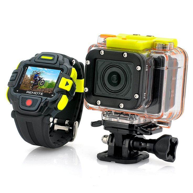 HD Action Camera 'Eyeshot' with Wi-Fi and Watch Remote Control, Panasonic Sensor, 145 Degree Lens