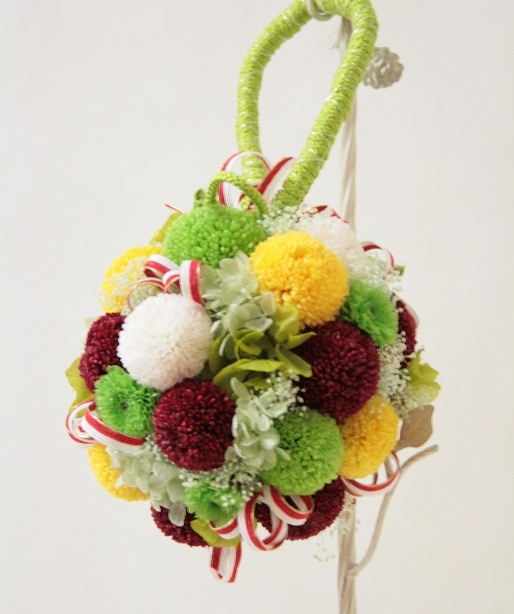 Ball bouquet in Japanese dress