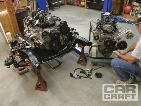 Chevy Ls Accessory Drive Gen Iii Iv Small Block Swap