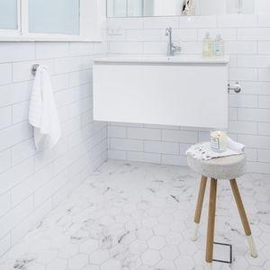 White & clean.