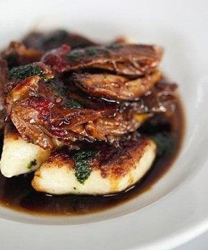 Slow Cooked Lamb Shoulder w/ Potato Gnocchi