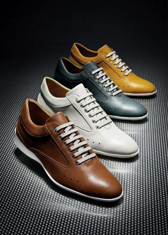 John Lobb and Aston Martin collaborate on the Winner Sport driving shoe,  which incorporates various Aston design cues