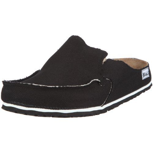 Birkis clogs Classic Skipper from Textile in Black with a narrow insole Birki's. $78.64