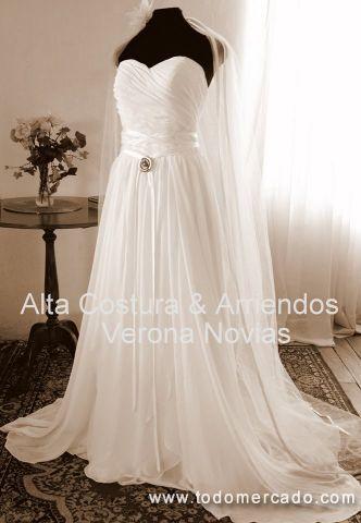 Hermosos vestidos de novia importados y de diseño Concepción Talcahuano