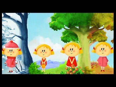 Apprendre les saisons en samusant (francais) - YouTube