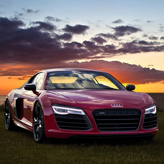 Looking just like a fairytale. Those curves lines and just pure timeless sexyness.  Car: 2014 @Audi R8 V10 Plus (550hpV10 5.2 NA) Performance: 0-100kmh(62mph): 3.5 seconds Top Speed 330kmh Color: Brilliant red metallic  Location: Malmö Sweden Facebook: http://on.fb.me/1f62xUT Camera: Canon Eos 5D Mark II / 24-70  Thanks to: Audi Malmö  Remember ALL my photos are available on my popular Facebook page where you can download them in their high quality.  #audi #r8 #v10plus #v10 #plus #supercar…