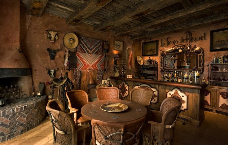 Awesome Western Saloon - We are doing our basement bar western....