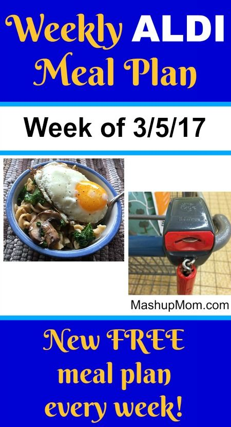 Here's your easy weekly ALDI meal plan for the week of 3/5/17: Pick up everything on the shopping list below, then start cooking on Sunday! Hope you find it useful. *** Subscribe to the weekly ALDI meal plans here! Note: I try not to repeat the same recipes too often, but you will see favorite easy recipes come up again on these weekly ALDI meal plans as the same meats and produce items come up on sale again. ALDI meal planning  {Read More}