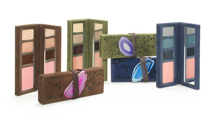 Stila Eye Shadow - Love the earth tones and textures in this design.