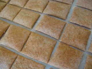 Home Joys: Sourdough Crackers
