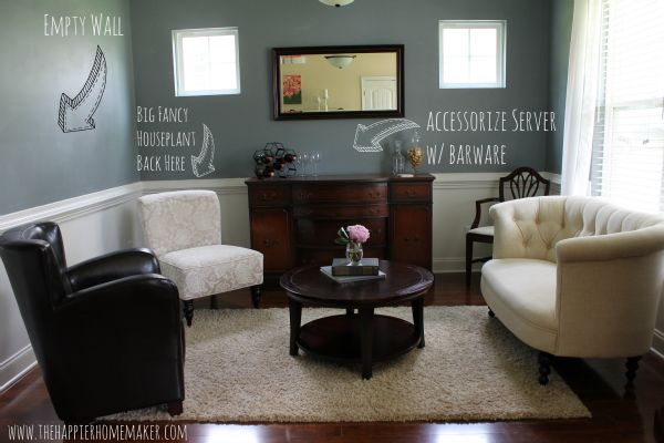 Turn an unused dining room to a grown up sitting room for Alternative ideas for formal dining room