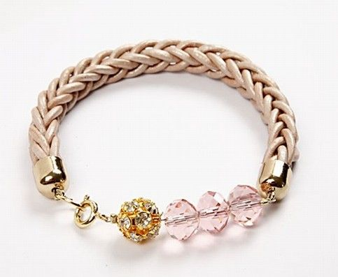 How to Make a Woven Leather Cord Bracelet Tutorial - The Beading Gem's Journal