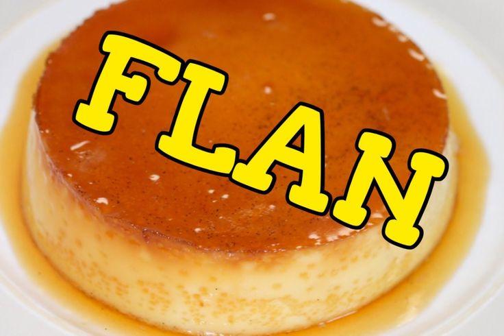 EASY Dessert: Mexican FLAN Recipe! Receta para FLAN Mexicano FACIL!