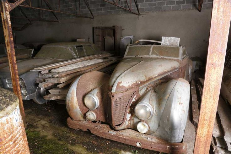 Forgotten Treasure Trove of Sixty Cars Heads to Auction | The Old Motor
