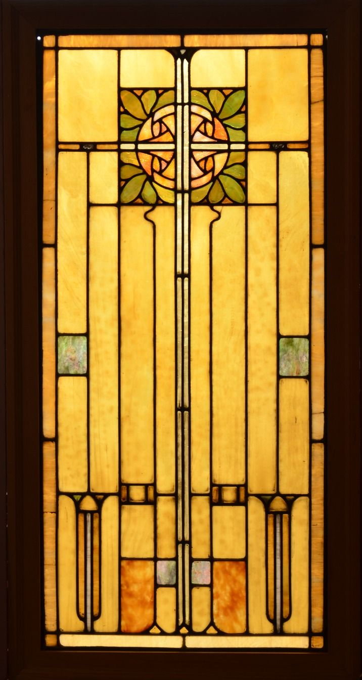 1648 best stained glass images on pinterest stained glass an antique american arts and crafts style stained glass panel set in zinc came the eventelaan Gallery