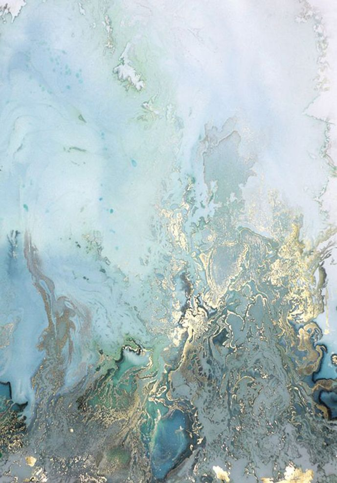 Spring green/white/grey mood board / Onto the Sea abstract painting by Beth Nicholas via www.fashionedbylove.co.uk